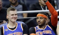 Entonijs no 'Knicks' komandas aizmainīts uz 'Thunder', vēsta ESPN