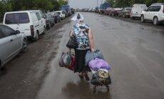 ANO: No Krimas un Ukrainas austrumiem bēguši 38 000 cilvēku
