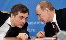 No amata atbrīvots Krievijas vicepremjers Surkovs