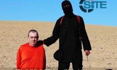 Islāmisti nofilmējuši vēl viena Lielbritānijas pilsoņa nāvessodu