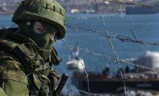 'Zaļie vīriņi' Kostjantiņivkā pie Doņeckas sagrābj milicijas ēku