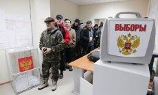 Социологи: явка на выборах президента РФ будет рекордно низкой, рейтинг Путина растет