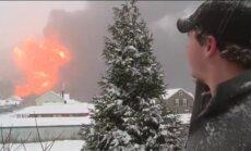 Rietumvirdžīnijā avarē un aizdegas vilciens ar jēlnaftu; evakuē divas pilsētiņas