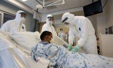 Gripas epidēmija izraisīs Ebolas paniku, prognozē ASV slimnīcas