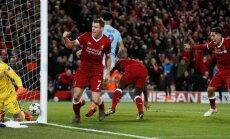 'Liverpool' pussargs Milners atkārto UEFA Čempionu līgas piespēļu rekordu