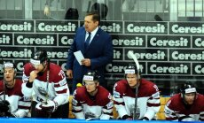 Nosaukti Latvijas hokeja izlases kandidāti olimpiskajam kvalifikācijas turnīram
