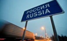 Kopējais preču eksports uz Krieviju augustā ir pērnā gada līmenī