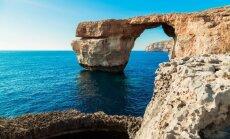 ФОТО: На Мальте рухнуло Лазурное окно - один из символов острова