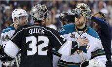 'Kings' pagarinājumā tiek pie pirmās uzvaras pār 'Sharks' Stenlija kausā