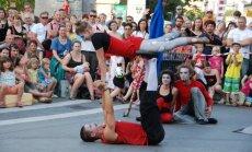В Риге пройдет фестиваль современного цирка и уличного искусства
