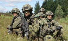 Uz militārajām mācībām 'Saber Strike' Baltijā ieradīsies gandrīz 900 Dānijas karavīru