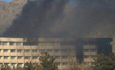 Apšaudē Kabulas viesnīcā bojā gājušo skaits pieaug līdz 22