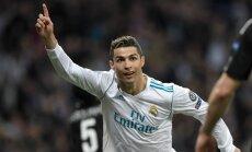 """Лига чемпионов: """"Реал"""" обыграл ПСЖ, Роналду двумя голами отметил юбилей"""