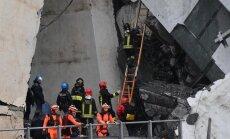 У МИД нет информации о том, чтобы среди жертв катастрофы в Генуе были латвийцы