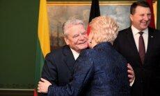 Foto: Rīgā tiekas Latvijas, Lietuvas, Igaunijas un Vācijas prezidenti