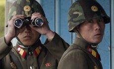Ziemeļkorejas spriedze: ASV cenšas piespiest Ķīnu sadarboties