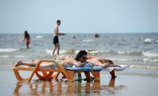 Жара в Латвии спадет лишь на пару градусов