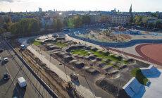 Aicina velosipēdistus apbraukt apkārt Rīgai jaunajā velotrasē Barona ielā