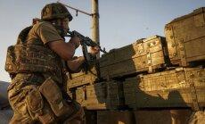 Mīnmetēja eksplozijas rezultātā poligonā Ukrainas rietumos gājuši bojā trīs karavīri