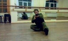 RD piederošās telpās ar ieročiem trenējas Latvijas krievu tuvcīņas federācija