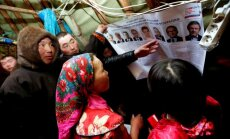 Foto: Ņenci jurtās izvēlas nākamo Krievijas prezidentu