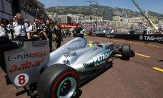 Вылетев с трассы, Росберг все равно взял поул в Монако