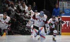 Paziņots Latvijas hokeja izlases kaujas sastāvs pasaules čempionātam