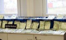 Aizturētajā kravā bijuši 60 kilogrami kokaīna sešu miljonu eiro vērtībā