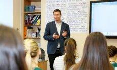 Ronalds Možeiko iedvesmo skolēnus studiju virziena izvēlē