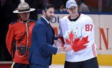 Team Canada Sidney Crosby, MVP trophy