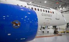 'Bombardier' nedienas: 'Airbus' atsakās veidot kopuzņēmumu 'airBaltic' pasūtītās sērijas lidmašīnu tirgošanai