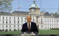 Čehijas premjers Sobotka atsauc demisijas plānus