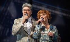Foto: Dailes teātrī tapis Vecgada koncerts