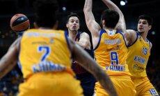 'Himki' basketbolistiem pēc šokējošā zaudējuma Tallinas 'Kalev' nogriež pusi algas