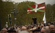 Foto: Spānijas Basku zemē tūkstošiem demonstrantu pieprasa ETA ieslodzīto pārvešanu
