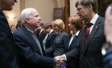 ФОТО и ВИДЕО: сенаторы США в Сейме