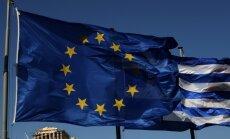 Grieķijas un eirozonas finanšu ministru tikšanās beigusies bez rezultātiem