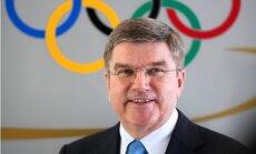 LOK ielūgusi SOK prezidentu 2015.gadā Latvijā apmeklēt PČ kamaniņu sportā