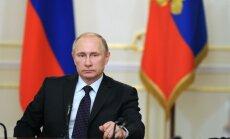 Putins armijai pavēlējis stingri vērsties pret jebkādiem draudiem Sīrijā