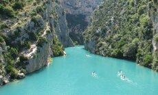 Eiropas skaistākais kanjons – Verdonas aiza Francijā