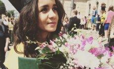 Foto: Aminata absolvējusi Latvijas Universitāti