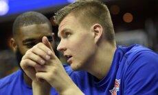 Porziņģis sasirdzis un izlaidis jau otro 'Knicks' treniņu