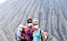 Pasaules bērni: Saullēkts virs vulkāniem un ainava kā no citas planētas