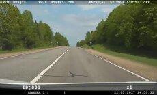 176 kilometri stundā – Riebiņos aptur kārtējo ātrumpārkāpēju