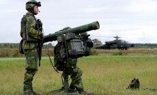 Zviedrijas bruņotie spēki vēlas aizsardzības budžeta divkāršošanu