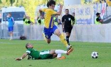 'Ventspils' futbolistiem septītā uzvara tikpat virslīgas čempionāta spēlēs
