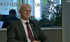 ВИДЕО. Интервью на Delfi TV: Янис Домбурс vs Гайдис Берзиньш