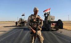 ASV aicina Irākas spēkus ierobežot pārvietošanos Kirkūkas provincē