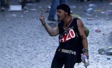 'Laipni lūgti Ellē' – Hamburgā G20 valstu līderus sagaida antikapitālisti