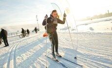Kur Rīgā šoziem var slēpot, slidot un šļūkt no kalna ar kameru vai ragavām